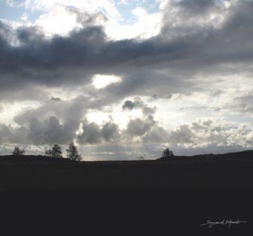 Gedankenwolken - 60x42cm