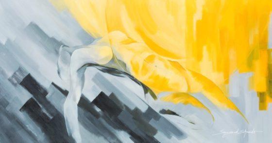 Meine Seele - 150x80cm - Acryl auf Leinwand